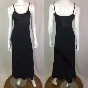 Laura Ashley Empire Waist Maxi Shift Dress